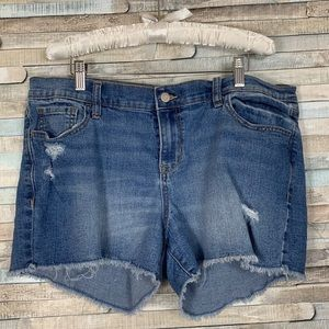 Old Navy Stretch Denim Shorts Stretchy 14